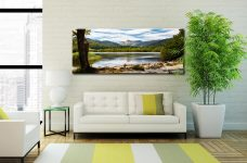 Elterwater Summer Afternoon - Canvas Print on Wall