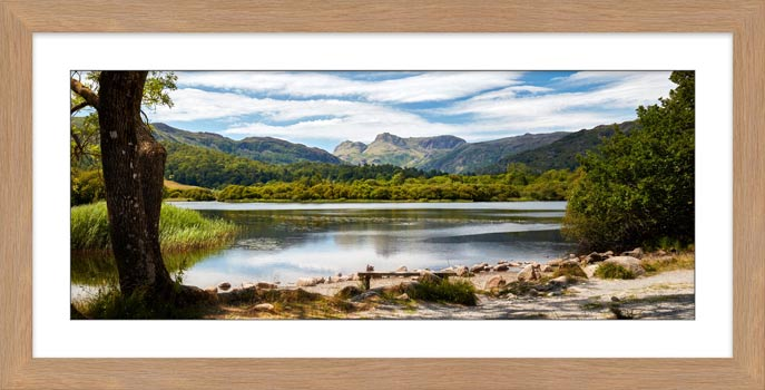 Elterwater Summer Afternoon - Framed Print