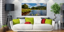 River Brathay Summers Afternoon - Canvas Print on Wall