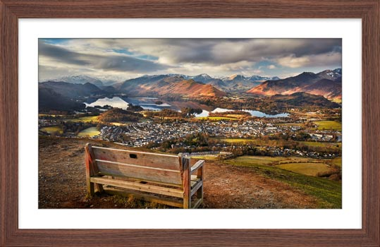 Best Seat in the House - Framed Print