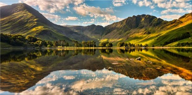 The Greens of Buttermere - Lake District Canvas