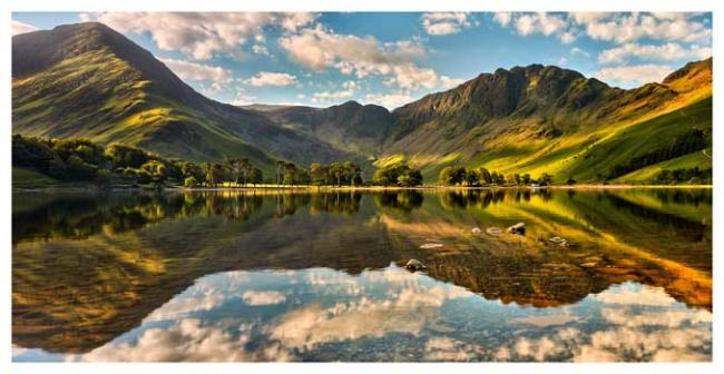 The Greens of Buttermere - Lake District Print