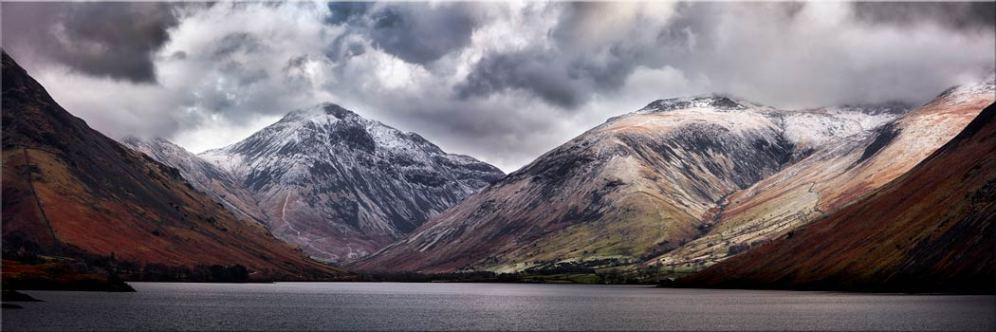 Great Gable and Lingmell - Canvas Print