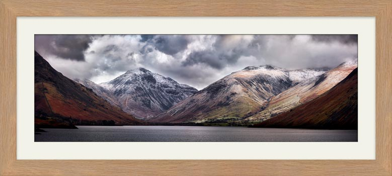 Great Gable and Lingmell - Framed Print