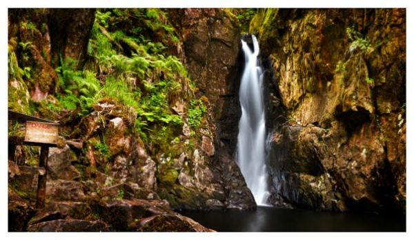 Stanley Ghyll Force Gorge - Lake District Print