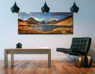 Wast Water Sunlight - Canvas Print on Wall
