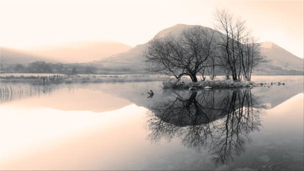 Morning Mists at Brothers Water - Lake District Canvas