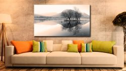 Morning Mists at Brothers Water - Lake District Canvas on Wall
