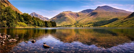 Sca Fell in Summer - Lake District Canvas