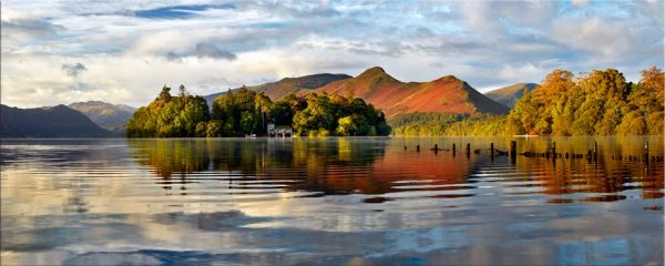Derwent Isle and Cat Bells - Canvas Print