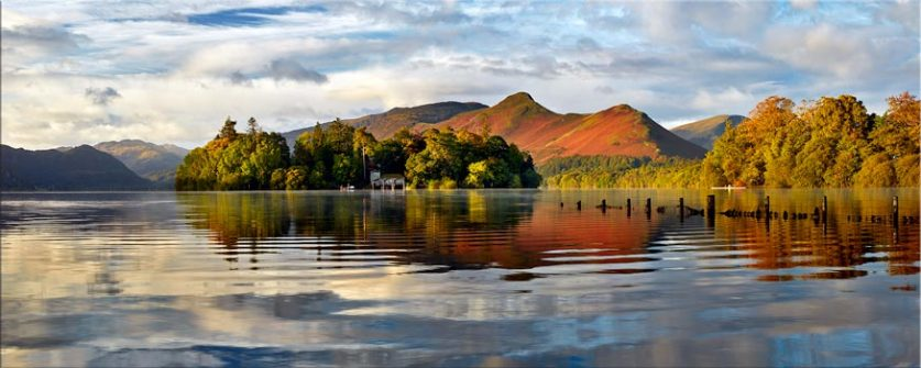 Derwent Isle and Cat Bells - Lake District Canvas