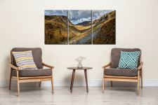 The Honister Pass - 3 Panel Canvas on Wall