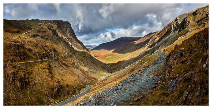 The Honister Pass - Lake District Print