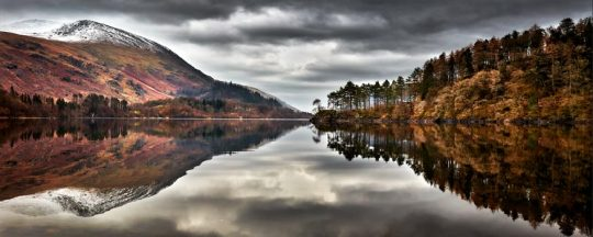 Thirlmere Late Autumn - Lake District Canvas