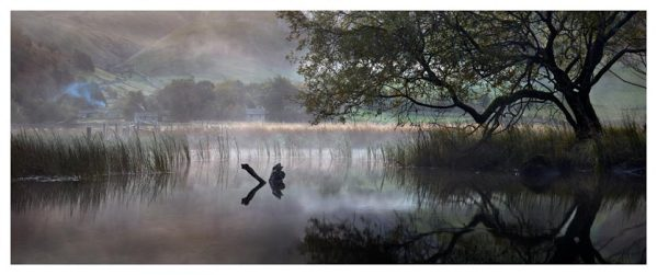 Hartsop Misty Morning - Lake District Print