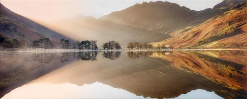 Bright Light on Buttermere - Lake District Canvas