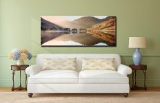 Bright Light on Buttermere - Canvas Print on Wall