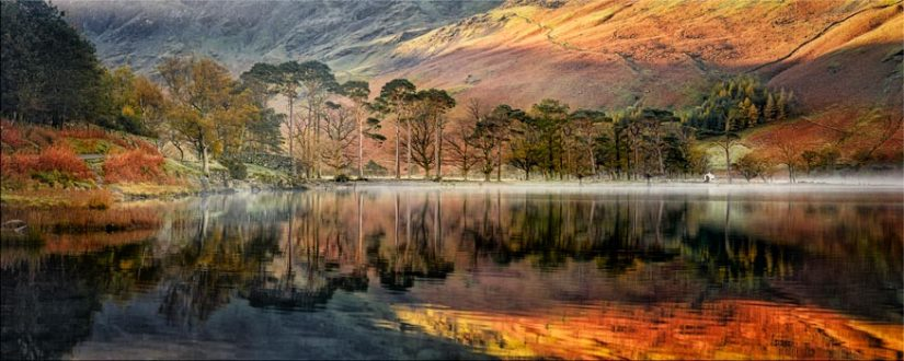 Golden Buttermere - Lake District Canvas