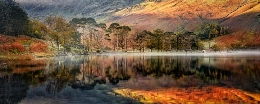 Golden Buttermere - Lake District Canvas