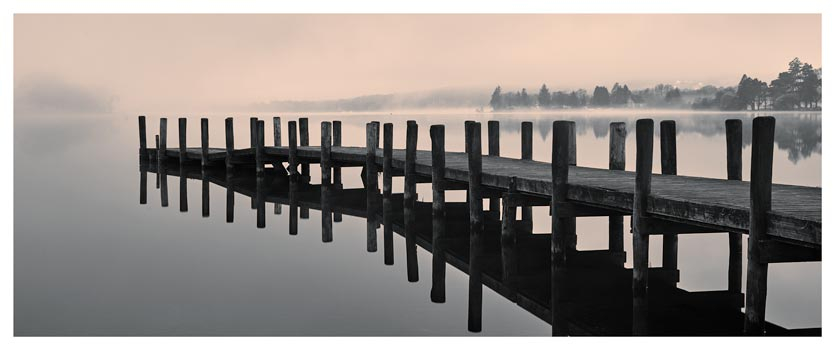 Coniston Jetty - Lake District Print