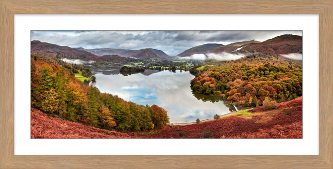 Trees of Grasmere - Framed Print with Mount