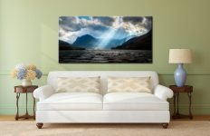 Sunbeams Over Buttermere - Lake District Canvas on Wall