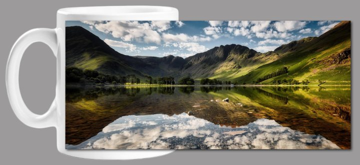 Little White Clouds Buttermere Mug