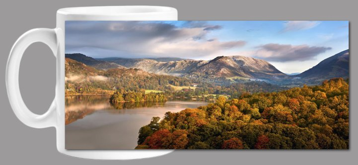 Grasmere Autumn Morning Mug