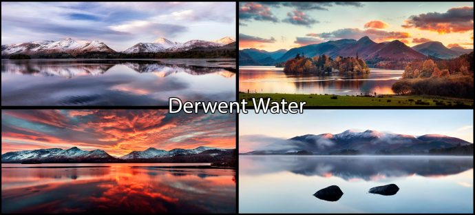 Derwent Water Mugs 4 Pack