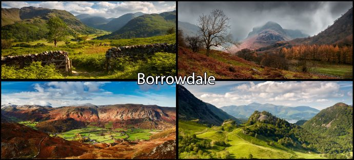 Borrowdale Mugs 4 Pack