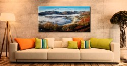 Great Langdale Misty Morning - Canvas Print on Wall
