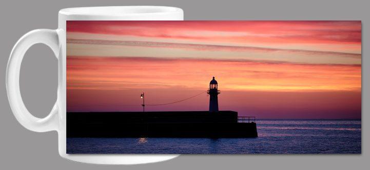 The Lighthouse and the Lamp Mug