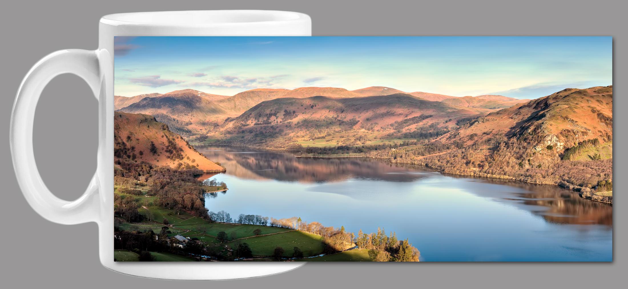 Morning Light on Ullswater Mug