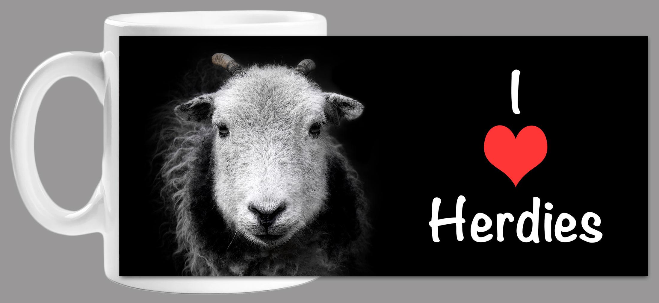 I Love Herdies - Mug