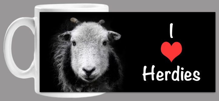 I Love Herdies - Mug