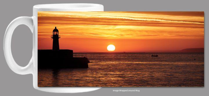 St Ives Harbour Sunrise Mug