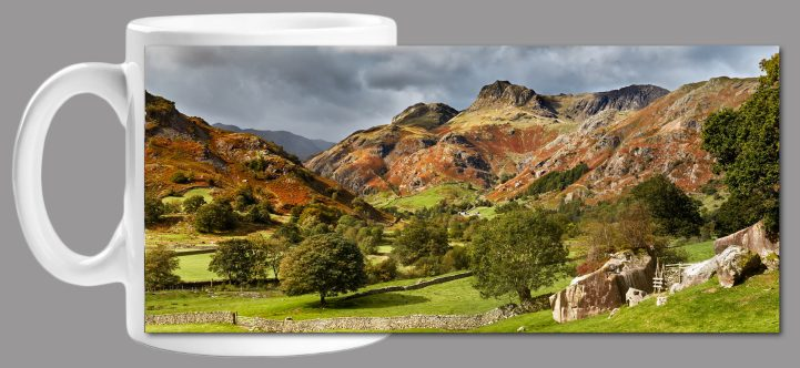 Summer Greens of Langdale Mug