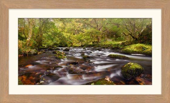 Start of Autumn River Rothay - Framed Print