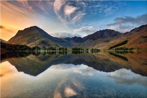 Breaking Dawn Buttermere - Lake District Canvas