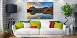 Breaking Dawn Buttermere - Lake District Canvas on Wall