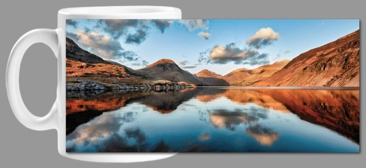 Golden Light Over Wast Water - Mug
