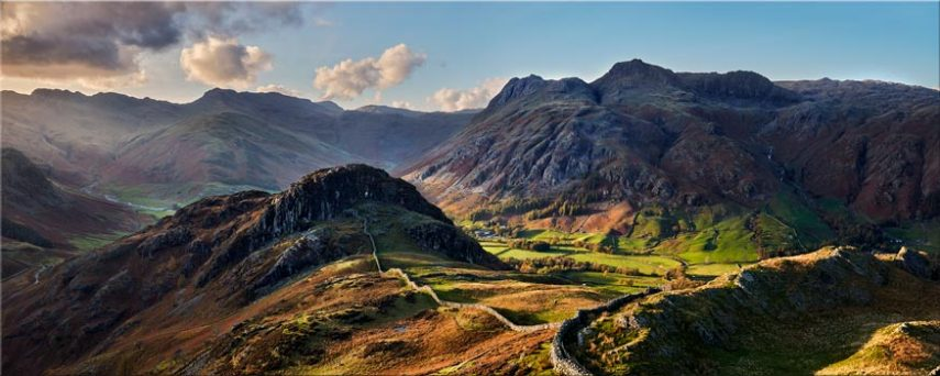 Side Pike Panorama - Lake District Canvas