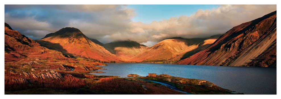 Wast Water Late Sun - Lake District Print