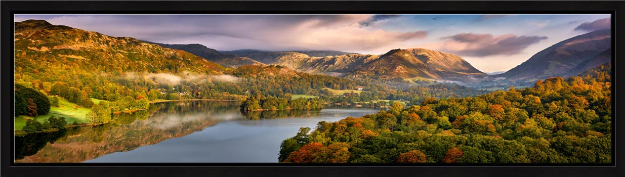Grasmere Autumn Morning - Modern Print