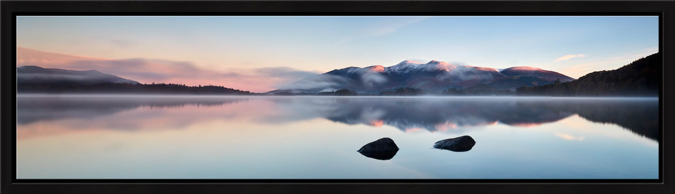 A New Day Dawns at Derwent Water - Modern Print