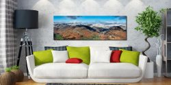 Glenridding Panorama - Print Aluminium Backing With Acrylic Glazing on Wall