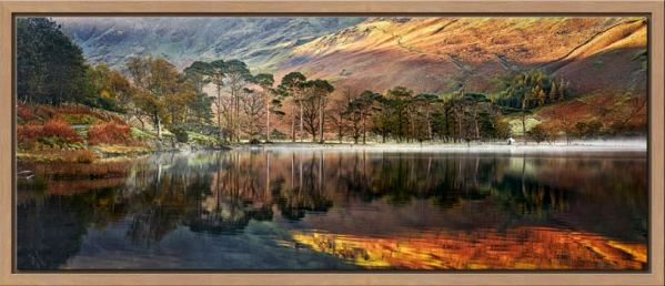 Golden Buttermere - Modern Print