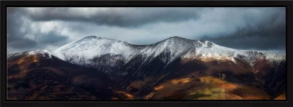 Snow Capped Skiddaw - Modern Print