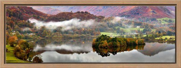 Grasmere Autumn Mists - Modern Print