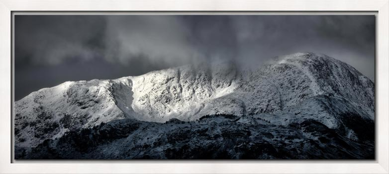 Snow Covered Wetherlam - Modern Print